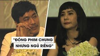 Cát Phượng bật khóc, kể chuyện không ngủ chung giường với Kiều Minh Tuấn