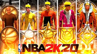 ROOKIE TO LEGEND EVOLUTION! (ALL REP REACTIONS IN ONE VIDEO) NBA 2K20 LEGEND MONTAGE!