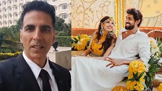 Akshay Kumar hilarious comments on Rana's wedding..