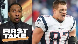 Stephen A. Smith says Rob Gronkowski deserves to be suspended for hit   First Take   ESPN