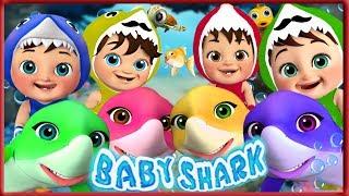 🔴 Baby Shark , Five Little Monkey , Wheels on the Bus , Happy Birthday Song - Banana Cartoon [HD]