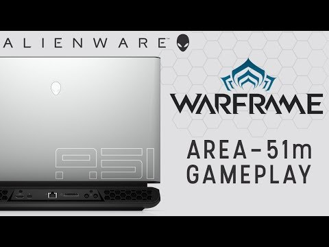 Warframe Gameplay on Alienware Area-51m PC Gaming Laptop with NVIDIA GeForce RTX 2080