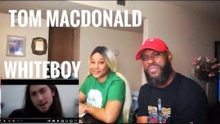 STRAIGHT FACTS! TOM MACDONALD- WHITEBOY REACTION