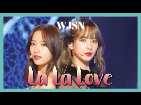 [HOT] WJSN - La La Love ,우주소녀 - La La Love Show Music core 20190216