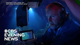 American diver breaks record with journey to the Mariana Trench