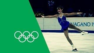 15 Year Old Tara Lipinski Wins Figure Skating Gold | Olympic Rewind