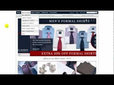 Imba-Shopping.com: Интернет магазин HawesAndCurtis.com