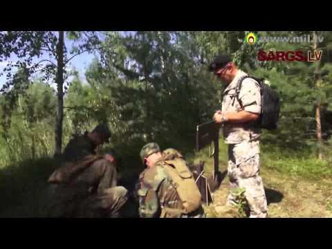 Jaunsargu nometne Speciālo uzdevumu vienībā 2. daļa, komandas saliedēšanas treniņš