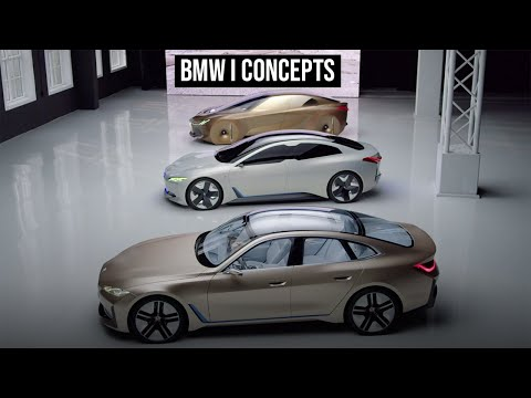 BMW Vision Concepts - Futuristic Designs Leading To The BMW i4