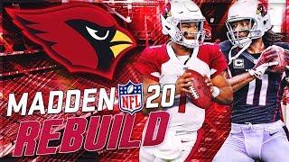 Rebuilding The Arizona Cardinals | It's Kyler Murray TIME! | Madden 20 Franchise Mode