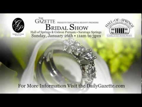 Schenectady Gazette Bridal Show TV Spot