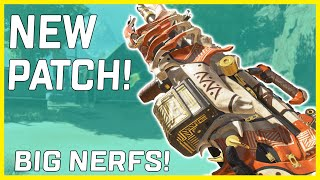 Apex Legends New Patch! Nerfs To Bocek and Spitfire #shorts