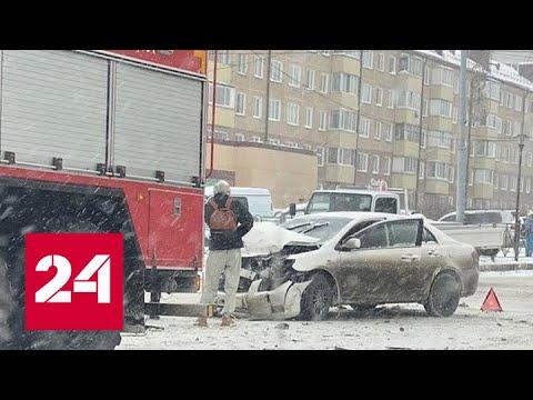 Непогода на Дальнем Востоке: в Приморье гололедица, на Сахалине снегопад. Погода 24