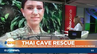 Thai Cave Rescue: Flood waters impeding rescue efforts could take months
