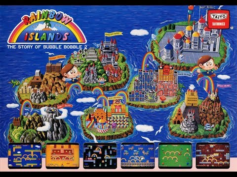 Rainbow Island Arcade Sound Track