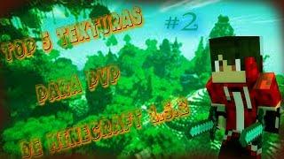TOP 5 TexTuras Para PvP De Minecraft 1.5.2 #2