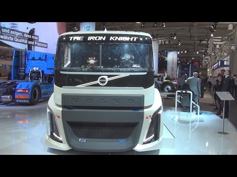 Volvo Iron Knight 2400 I-Shift Dual Clutch Racing Truck Exterior and Interior in 3D