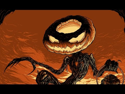 "Seventh.Ink ""Pumpkin King"" Illustration Time Lapse"