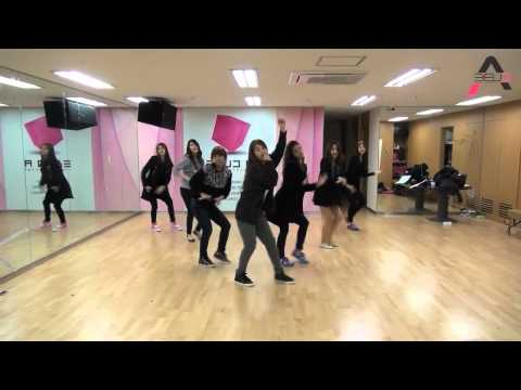 A Pink - My My mirrored dance practice