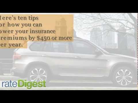 10 Tips To Cheap Car Insurance Premiums - Rate Digest Cheap Car Insurance Quotes