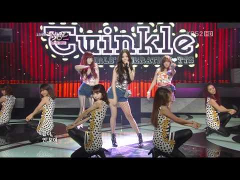 SNSD TTS - Twinkle & f(x) 2nd win encore Jun 29, 2012 GIRLS' GENERATION Live HD