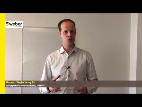 Weber lanserar weberfloor top matt