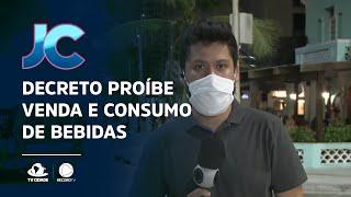 Novo decreto proíbe venda e consumo de bebidas em locais públicos a partir das 22 horas em Fortaleza
