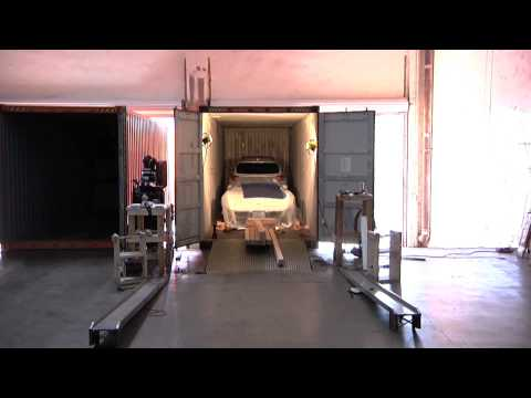 How to Ship Cars Overseas | Loading Cars in Shipping Container