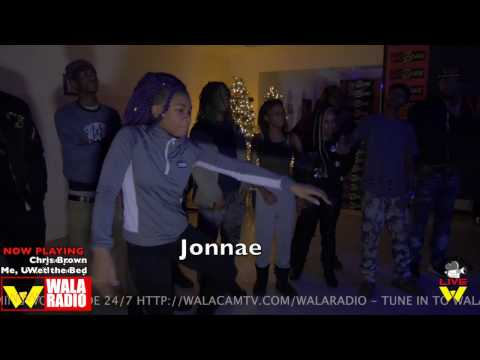 Hip Roll Battle @ DA WARZONE (Taty vs Jonnae) !!! ITS ON
