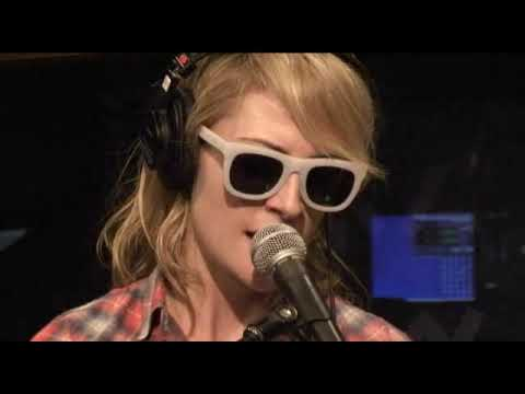 Metric - Help I'm Alive acoustic at KROQ