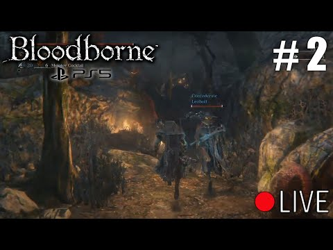 First Ps5 Bloodborne Stream Co op Let's Play #2 NG+