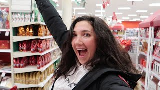 VLOGMAS DAY 6   target shopping + iphone pro max unboxing!