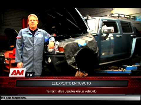El experto en tu auto nos habla sobre fallas usuales en un vehículo