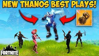 *NEW* THANOS GAUNTLET BEST PLAYS! - Fortnite Funny Fails and WTF Moments! #189 (Daily Moments)