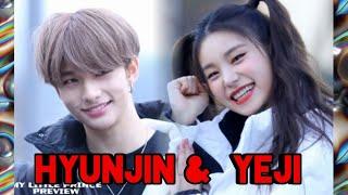 ( ITZY - STRAY KIDS) Hyunjin & Yeji moment