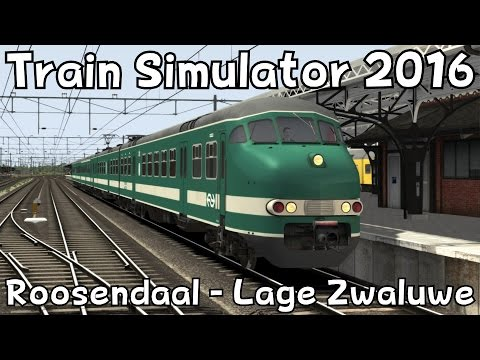 Train Simulator 2016: Roosendaal - Lage Zwaluwe v.v. with ChrisTrains Mat'64
