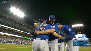 CHC@LAD: Arrieta tosses first no-hitter of his career