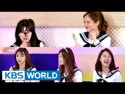 Excitement explodes! Girlgroup's metal tray karaoke [Happy Together / 2017.04.06]