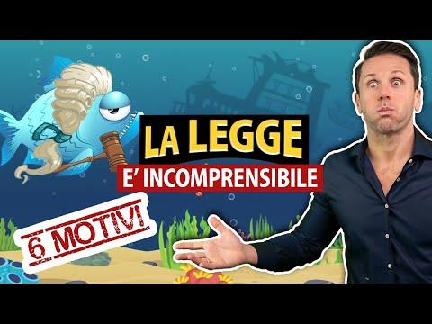 6 motivi per cui la LEGGE è INCOMPRENSIBILE | Avv. Angelo Greco