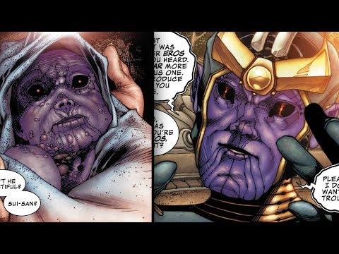 Thanos' Childhood and Teenage Years - Marvel Comics Explained