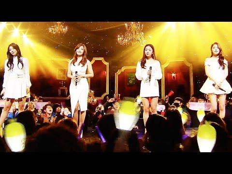 《Special Stage》 루나,은지,에일리,솔라 - 미소를 띄우며 나를 보낸 그 모습처럼 @인기가요 Inkigayo 20160221