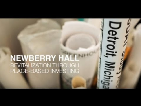 Watch CCM's new video: Newberry Hall - Revitalization Through Place-Based Investing
