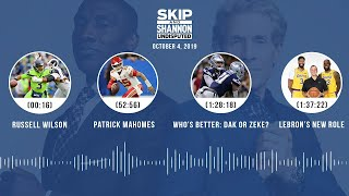 UNDISPUTED Audio Podcast (10.04.19) with Skip Bayless, Shannon Sharpe & Jenny Taft   UNDISPUTED