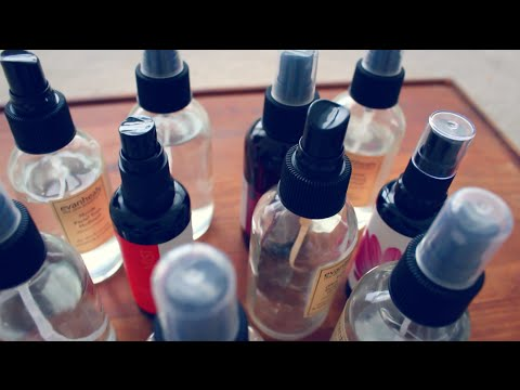 PLANT HYDROSOL COLLECTION + BENEFITS/ USES    AROMATHERAPY