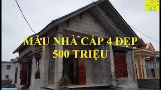 Thăm Quan Mẫu Nhà Cấp 4 Đẹp Diện Tích 8.3x12m Có Giá Chưa Tới 600 Triệu Tại Ninh Bình