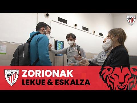 Happy birthday Lekue & Eskalza I Seville Airport I Sevilla FC 0-1 Athletic Club