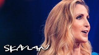 – Feminists are angry man-hating lesbians   Ann Coulter interview   SVT/TV 2/Skavlan