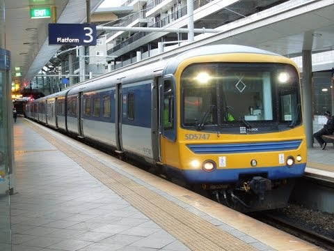 Veolia Transport Auckland SA/SD set push-pull train