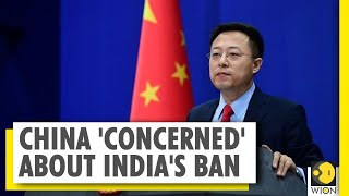 China reacts to India's ban on 59 Chinese apps including T..