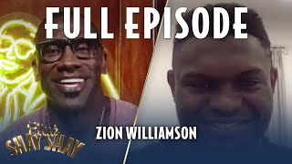 Zion Williamson gifts Shannon Sharpe a pair of the Jordan Zion 1   EPISODE 28   CLUB SHAY SHAY